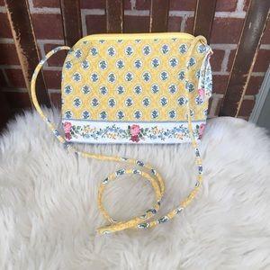 VINTAGE Vera Bradley Elizabeth Petite Shoulder Bag